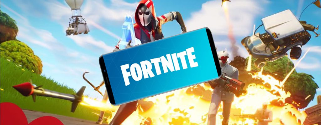 Fortnite Mobile Titel