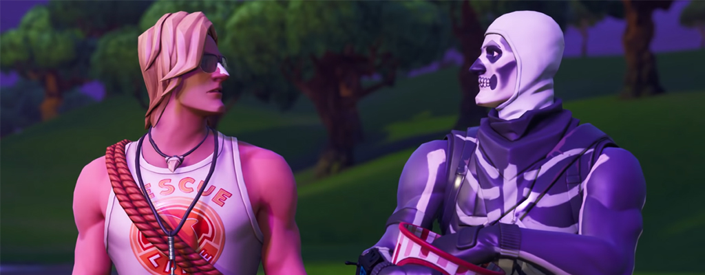 Fortnite Season 6 Skull Trooper Titel