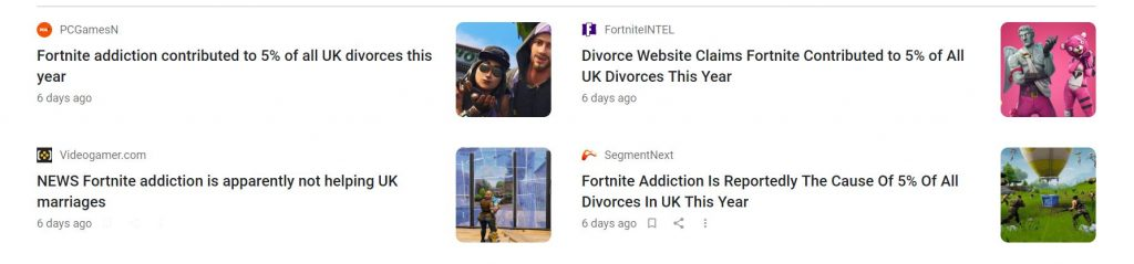 Fortnite-divorce