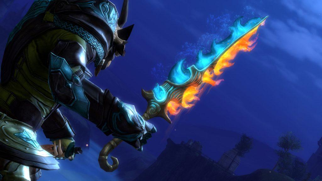 Guild Wars 2 Elementarschwert