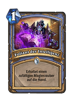 Hearthstone Foliant der Intelligenz