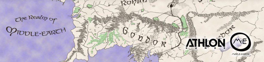 Mittelerde MMORPG Athlon Map