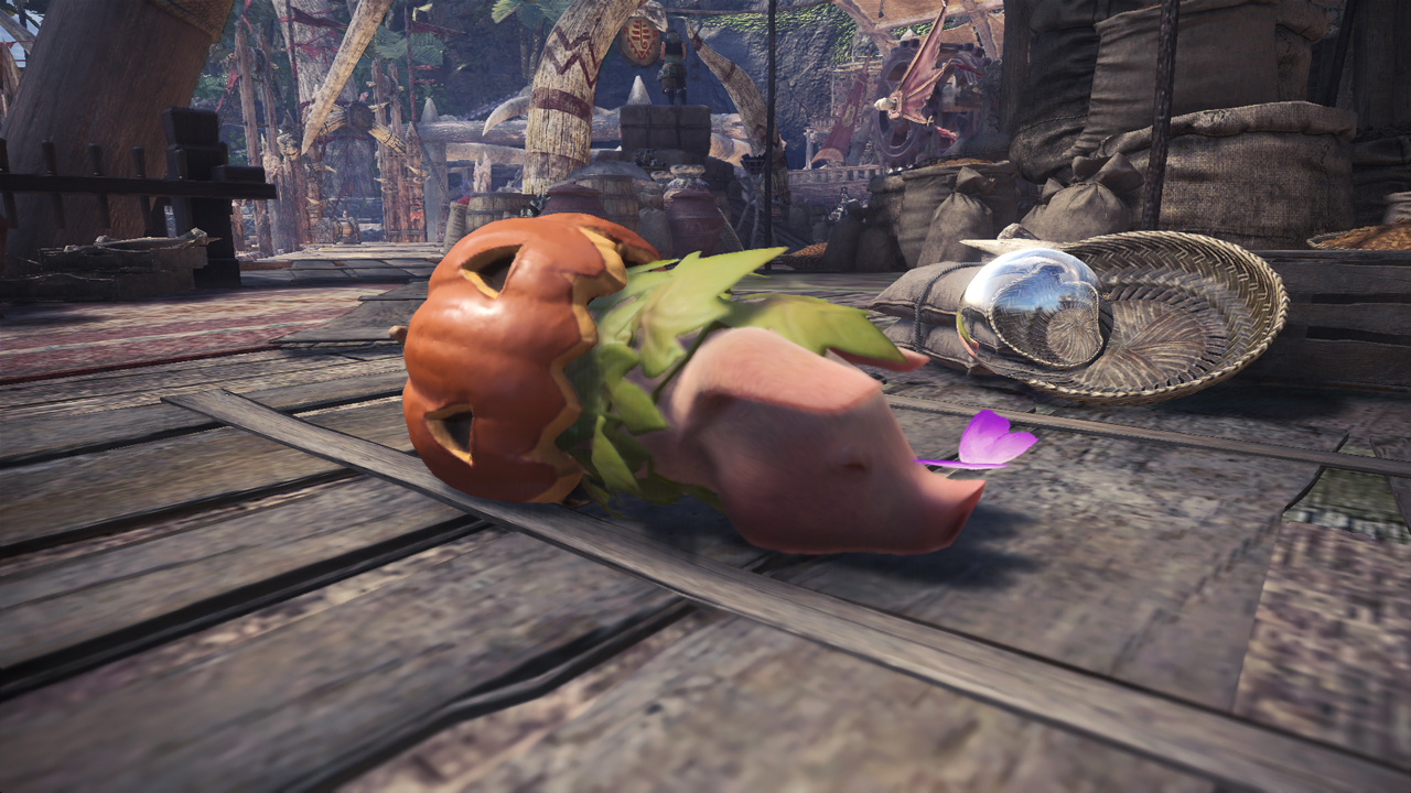 Monster-Hunter-World-Kürbis-Poogie