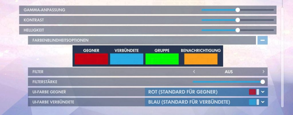 Overwatch Screenshot Farbenblind Optionen