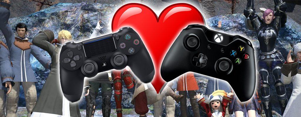 FF14 Xbox PS4