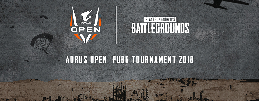 AORUS OPEN PUBG Tournament: Verfolgt die Offline Qualifier im Live-Stream