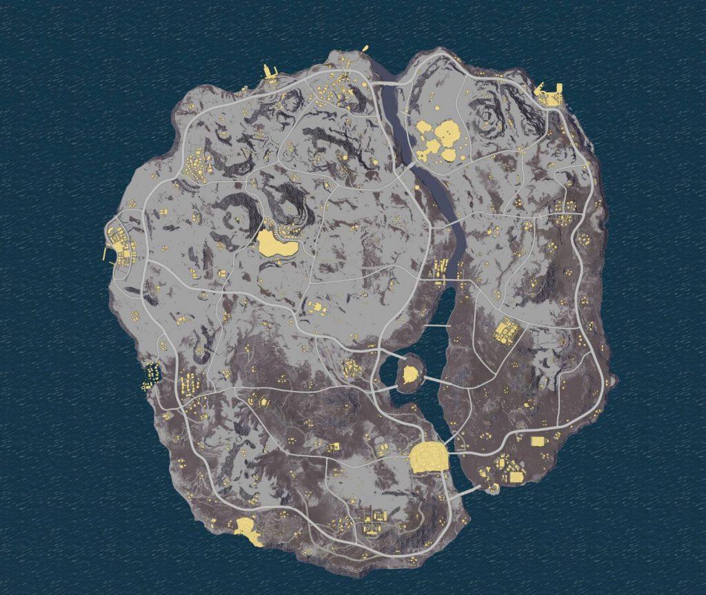 PUBG Schnee Map Datamine