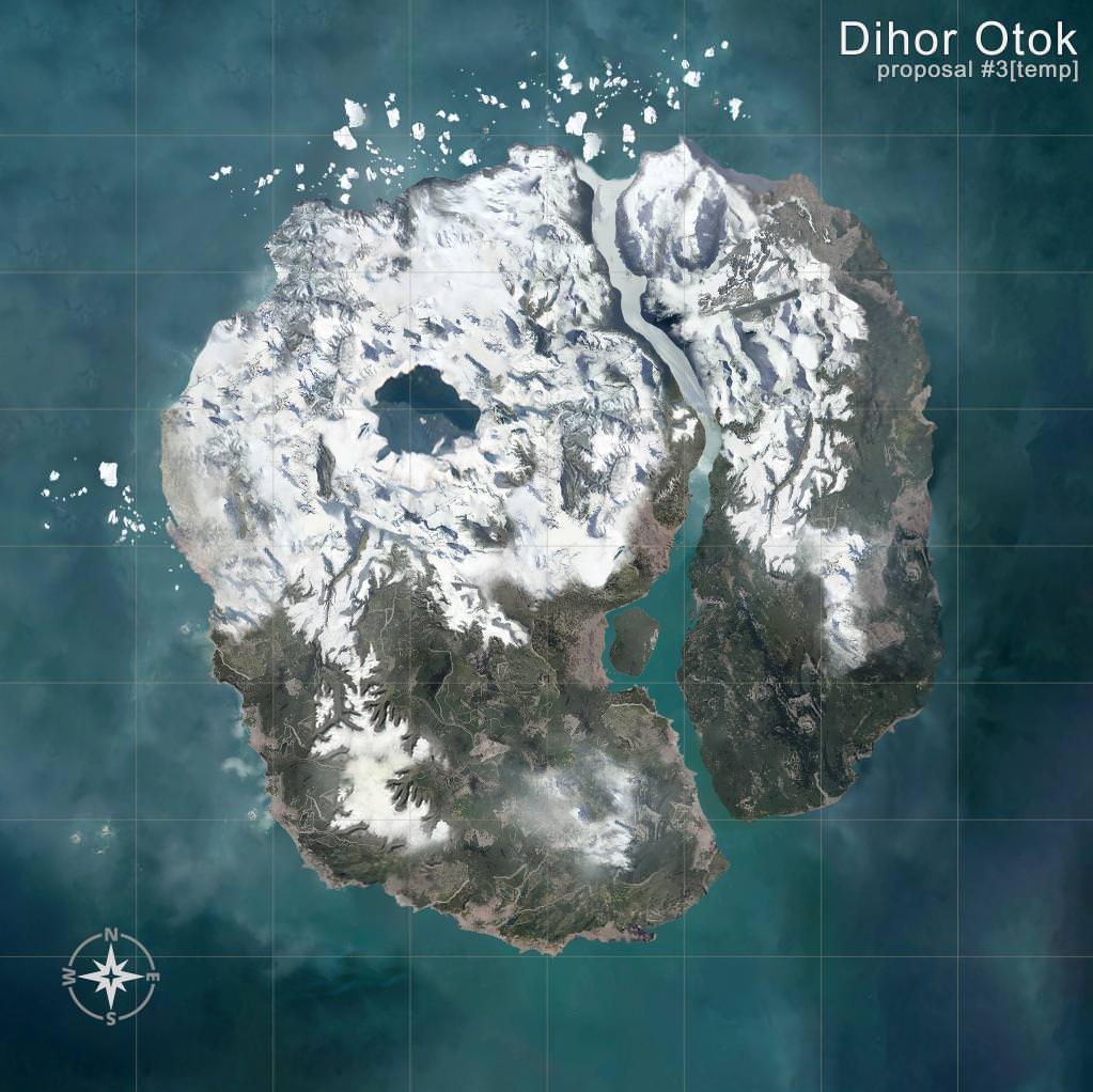 PUBG Schnee Map Datamine2