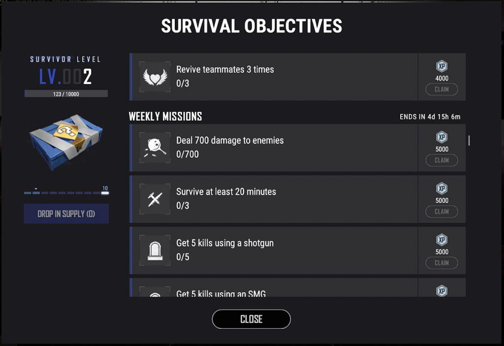 PUBG Supply Screenshot