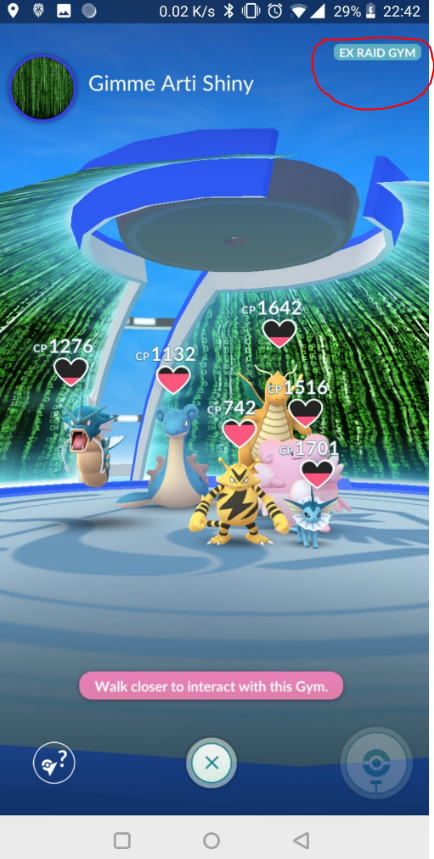 Pogo EX Raid Arena