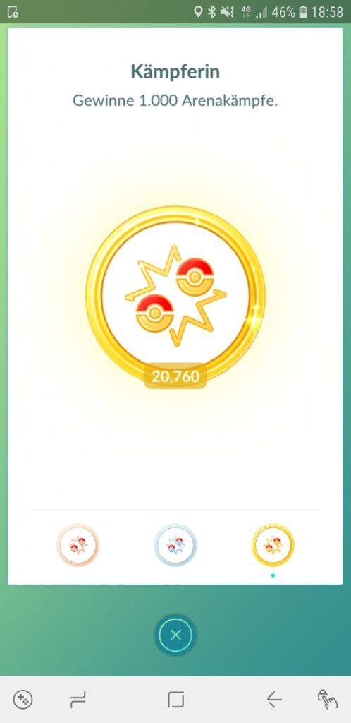 Pokémon GO Gewonnen Noah