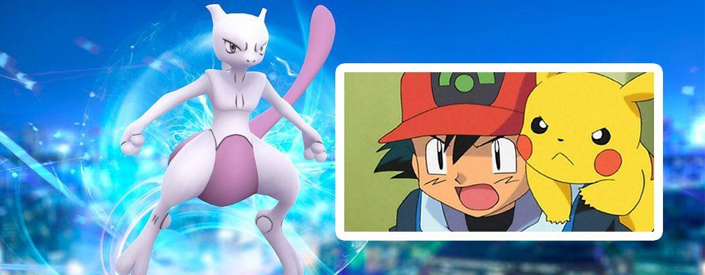 Pokémon GO Mewtu Ash Pika