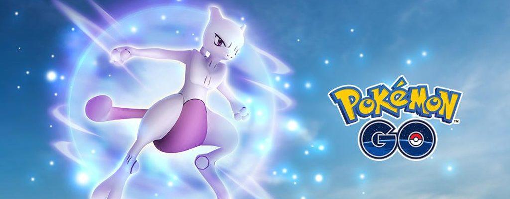 Pokémon GO Mewtu Titel Solo