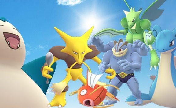 Pokémon GO Raidbosse Kanto