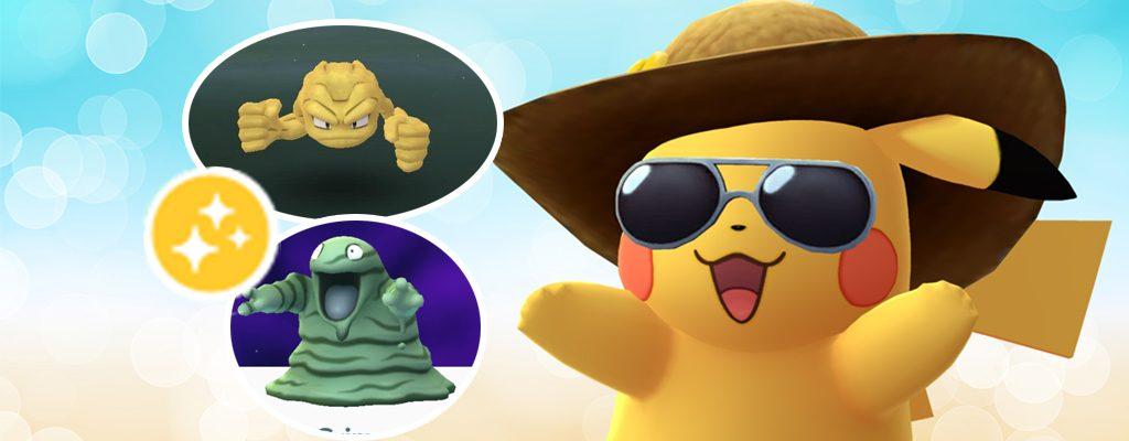 Pokémon GO neue Shinys September