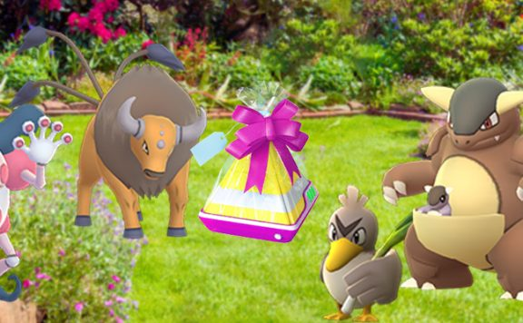 Pokémon GO regionale Eier Titel