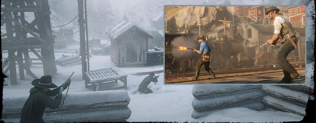 An diesen eindrucksvollen Orten kämpft Ihr in Red Dead Redemption 2
