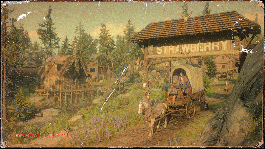 RDR 2 Strawberry