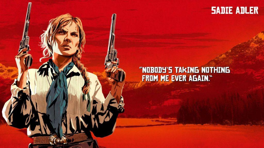 Red Dead Redemption 2 Adler Artwork