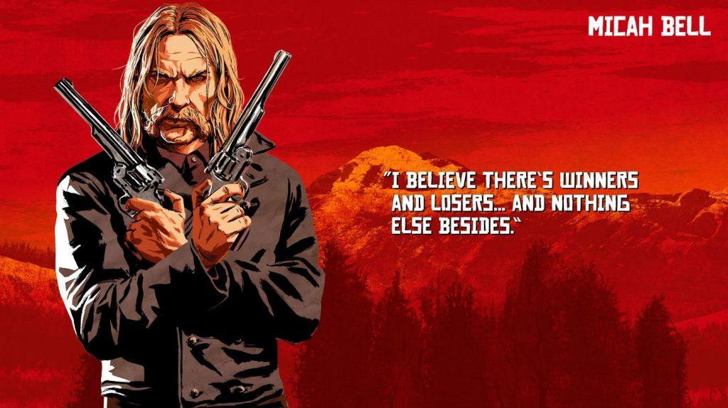 Red Dead Redemption 2 Bell Artwork