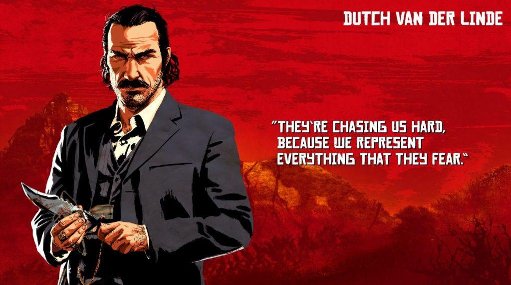 Red Dead Redemption 2 Dutch Artwork