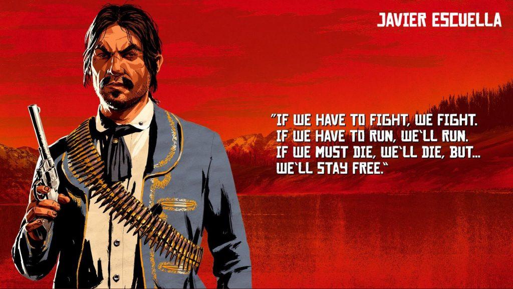 Red Dead Redemption 2 Escuella Artwork