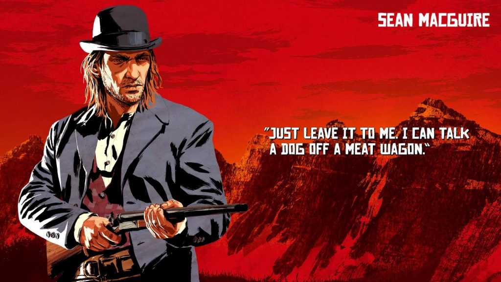 Red Dead Redemption 2 Macguire Artwork