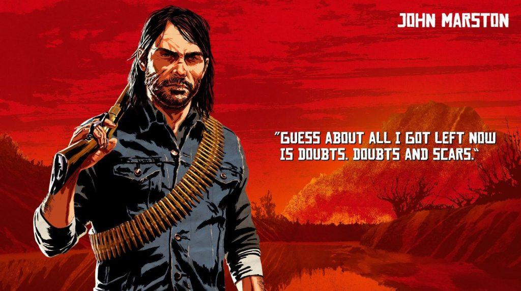 Red Dead Redemption 2 Marston Artwork