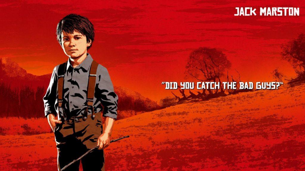 Red Dead Redemption 2 Marston Jack Artwork