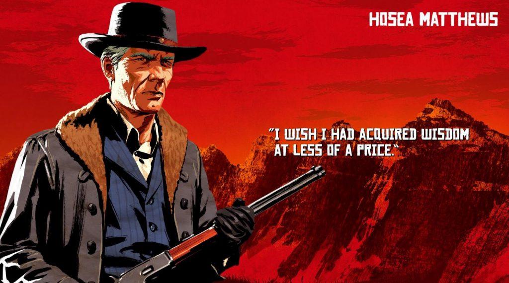 Red Dead Redemption 2 Matthews Artwork