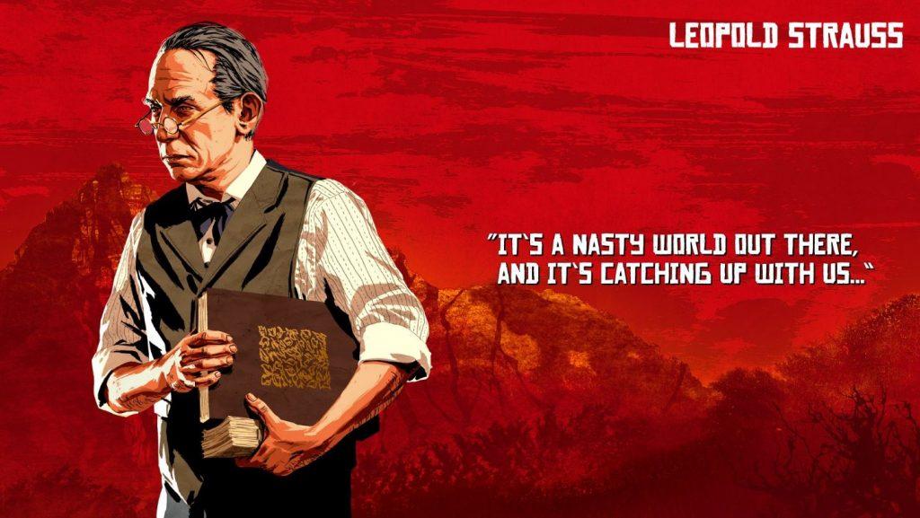 Red Dead Redemption 2 Strauss Artwork