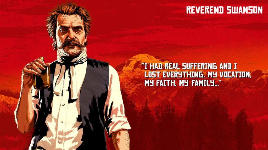 Red Dead Redemption 2 Swanson Artwork