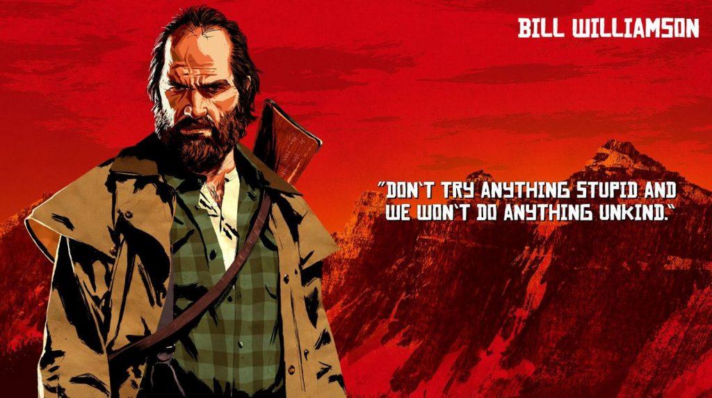 Red Dead Redemption 2 Williamson Artwork