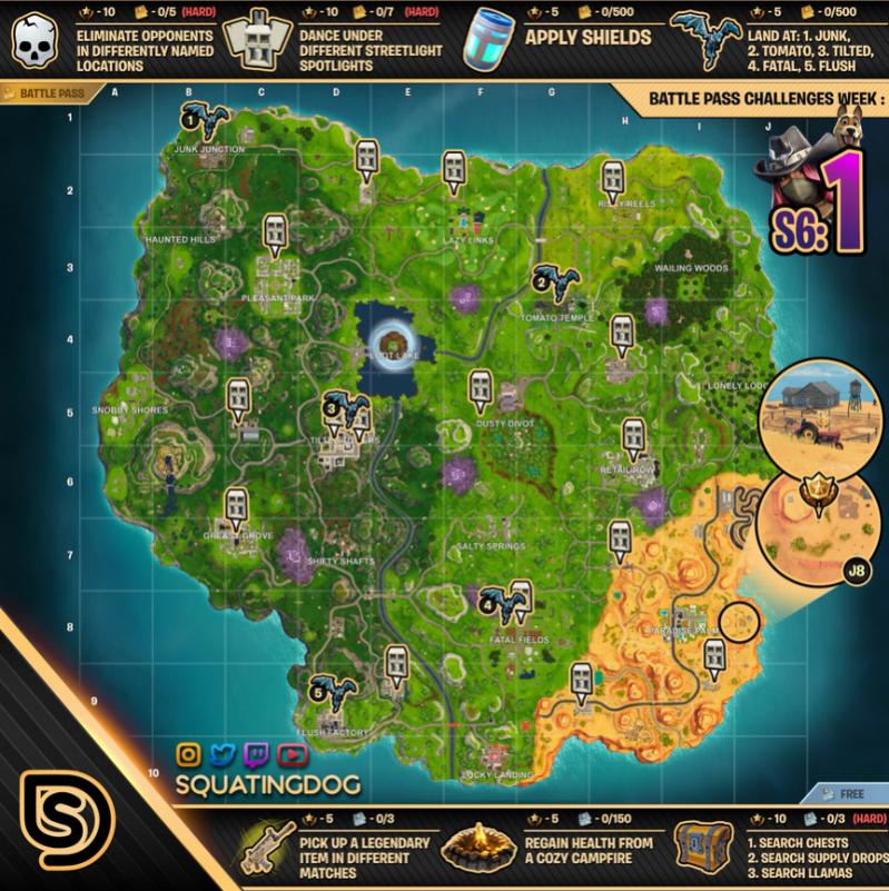 S6 W1 Karte