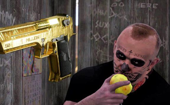SCUM Goldene Waffe Klo Titel