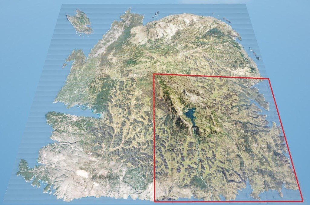 SCUM Riesenmap