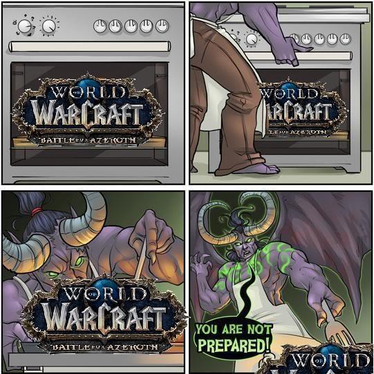 WoW Beta for Azeroth Meme