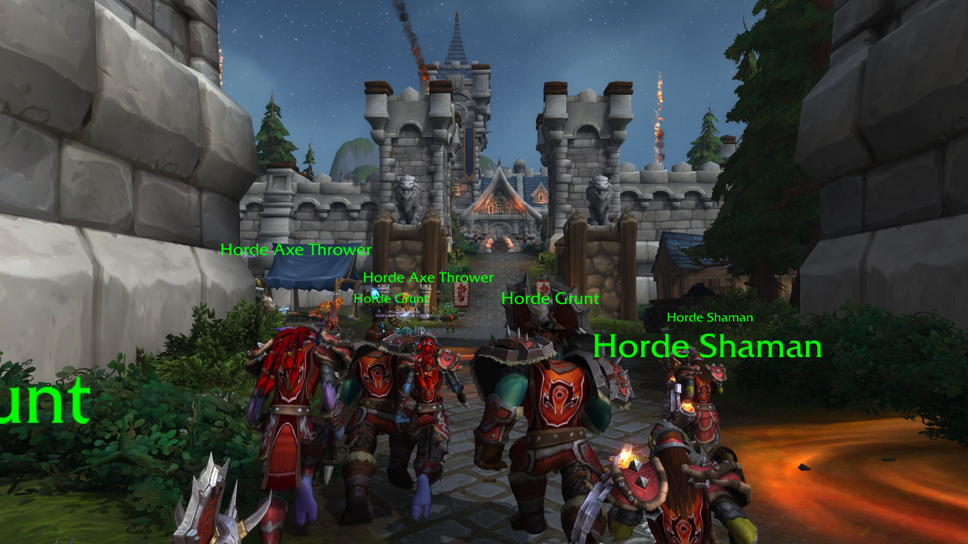 WoW BfA Stromgarde Storming The Keep Warfront