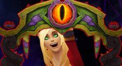WoW Darkmoon Gate Blood Elf cheer title