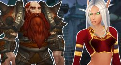 WoW Dwarf Blood Elf title