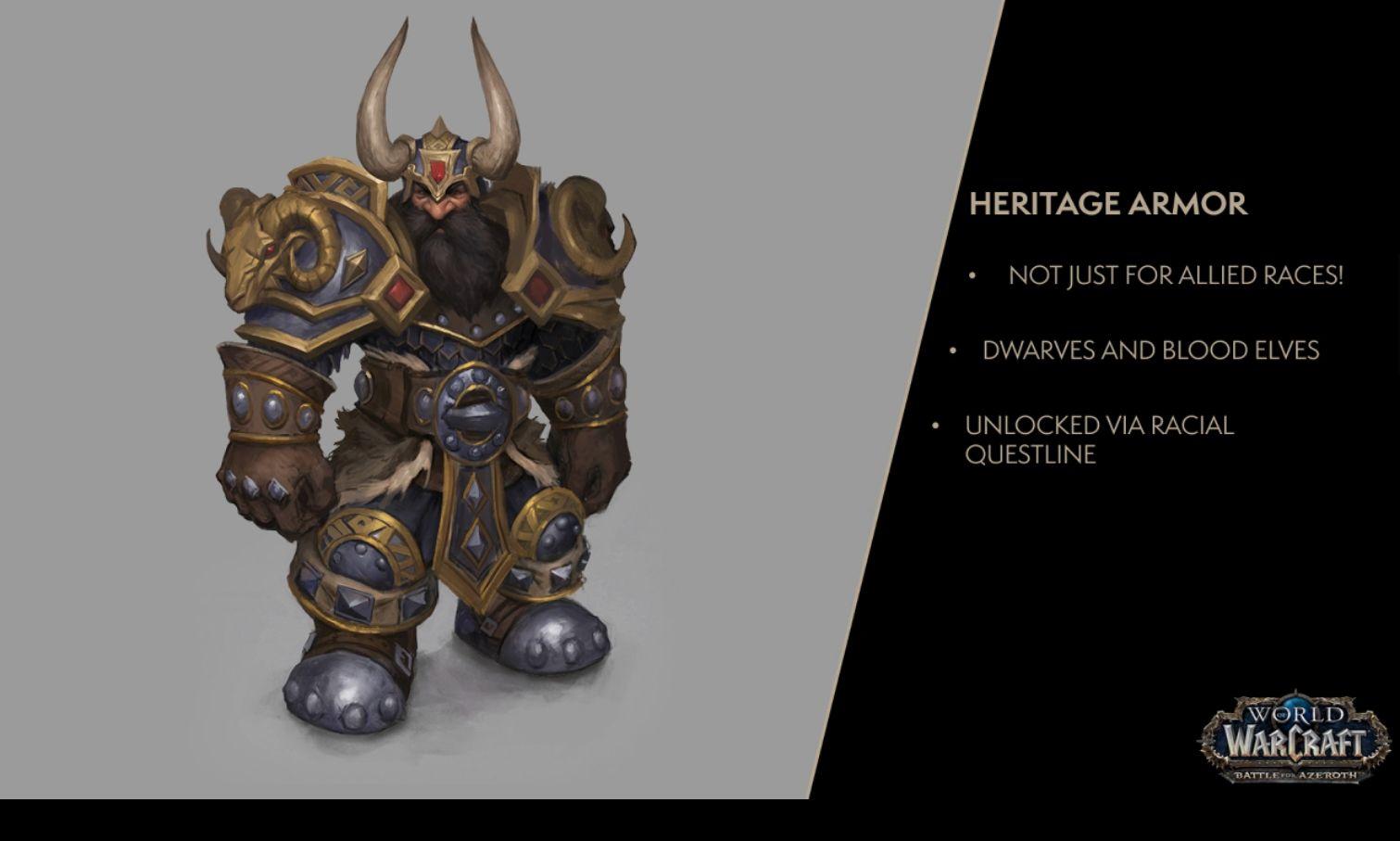 WoW Dwarf Heritage Armor Concept