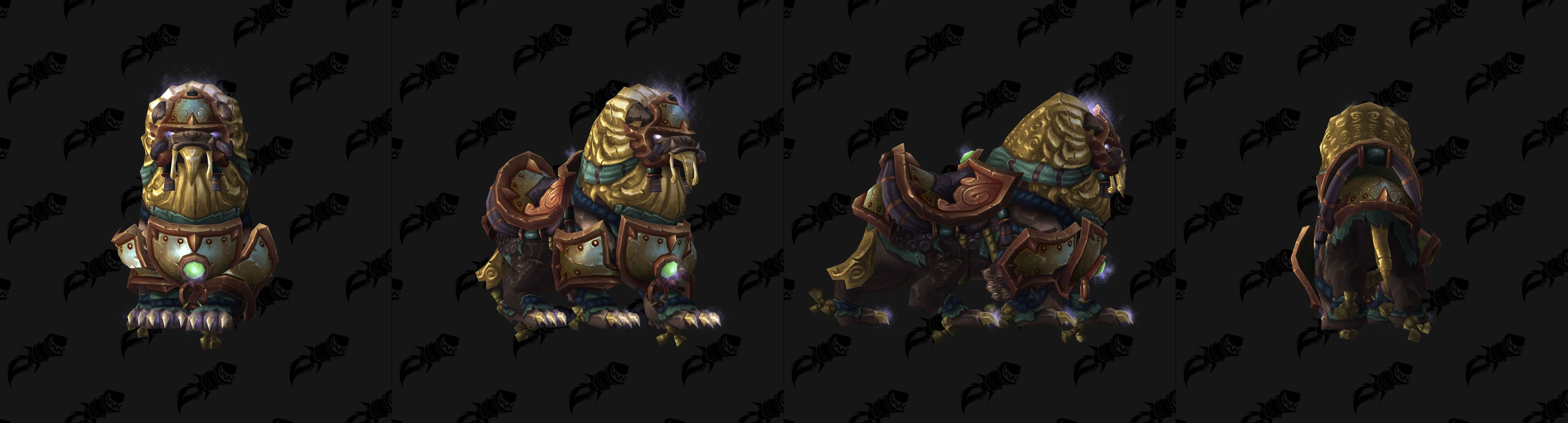 WoW Island Expeditions Mogu Mount