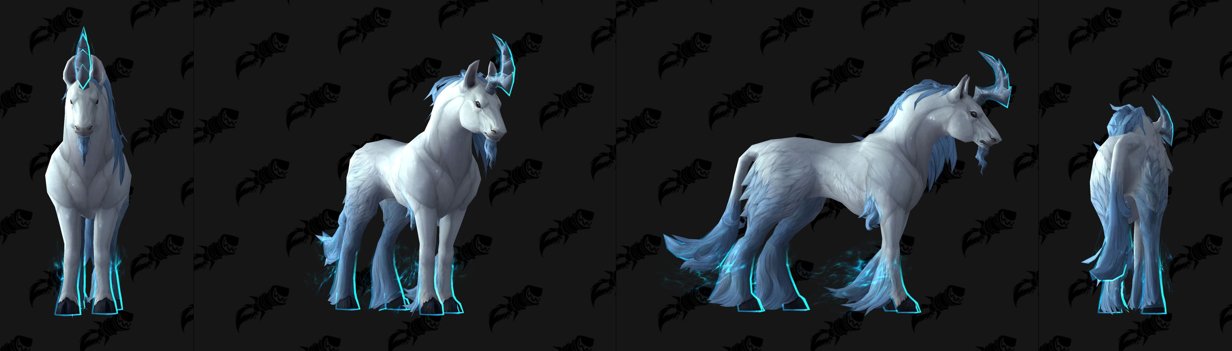 WoW Monohorn 100 rep mount
