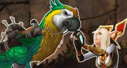 WoW Parrot Blood Elf Beg title Island Expedition