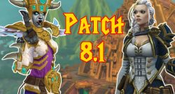 WoW Patch 8.1 Uebersicht title