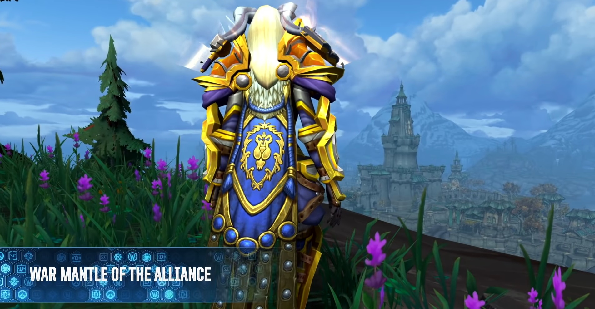WoW War Mantle of the Alliance