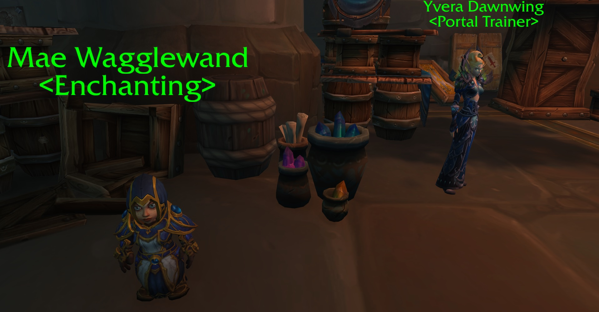 WoW Warfront Contribution Alliance