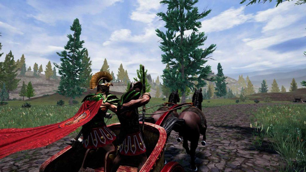 Zeus Battlegrounds chariot
