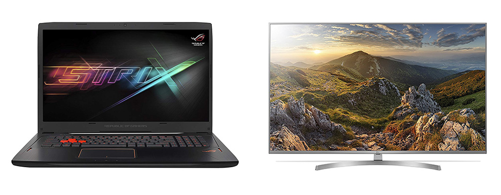 Amazon Herbst-Angebote: ASUS ROG Gaming-Laptop, UHD-TVs