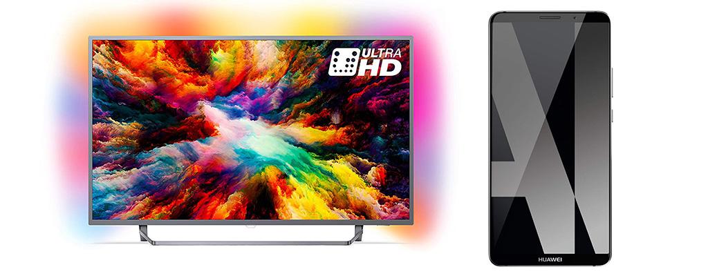 Amazon Herbst-Angebote mit Philips UHD-TVs und Huawei-Handys